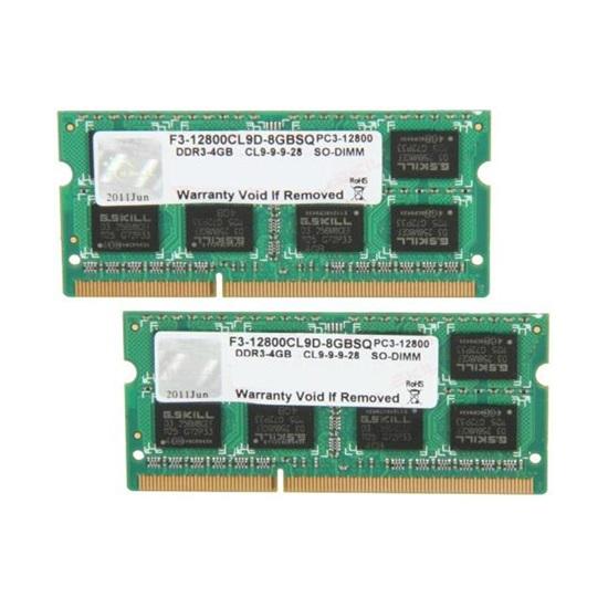 G.Skill Standard DDR3-1600MHz 8GB (2x4GB) (F3-12800CL9D-8GBSQ) (GSKF3-12800CL9D-8GBSQ)