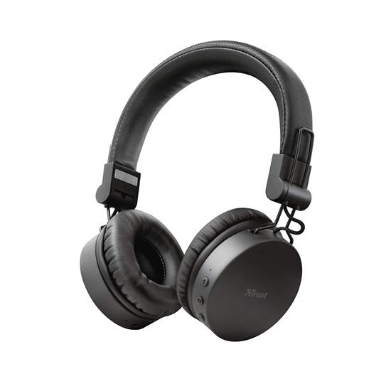 Trust Tones Bluetooth Wireless Headphones - black (23551) (TRS23551)