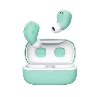 Trust Nika Compact Bluetooth Wireless Earphones - turquoise (23906) (TRS23906)