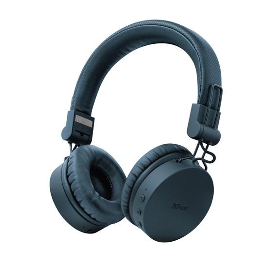 Trust Tones Bluetooth Wireless Headphones - blue (23908) (TRS23908)