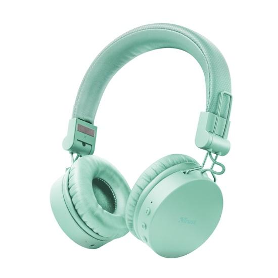 Trust Tones Bluetooth Wireless Headphones - turquoise (23912) (TRS23912)