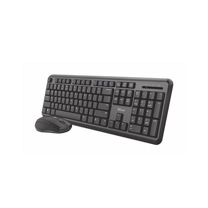 Trust ODY Wireless Silent Keyboard and Mouse Set (23942) (TRS23942)