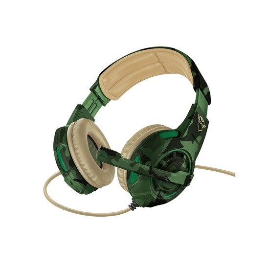 Trust GXT 310C Radius Gaming Headset - jungle camo (22207) (TRS22207)