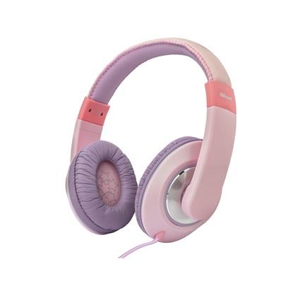 Trust Sonin Kids Headphones - pink (23609) (TRS23609)