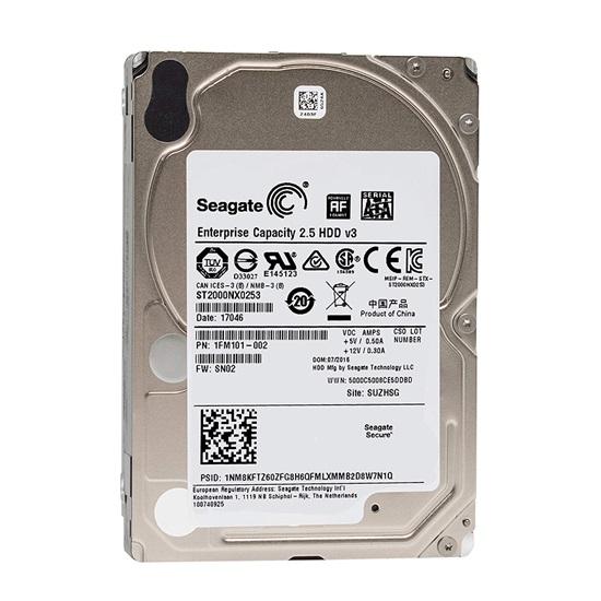 SEAGATE 2.5'' 2TB Enterprise Capacity 6 Gb/s SATA 512 Emulation (ST2000NX0253) (SEAST2000NX0253)