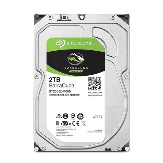 Εσωτερικός Σκληρός Δίσκος SEAGATE 3.5'' 2TB Sata 6Gb/s HDD Barracuda (ST2000DM005) (SEAST2000DM005)