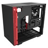 NZXT H210i Mini-ITX Case with Lighting and Fan control Matte Black/Red (CA-H210I-BR) (NZXTCA-H210I-BR)