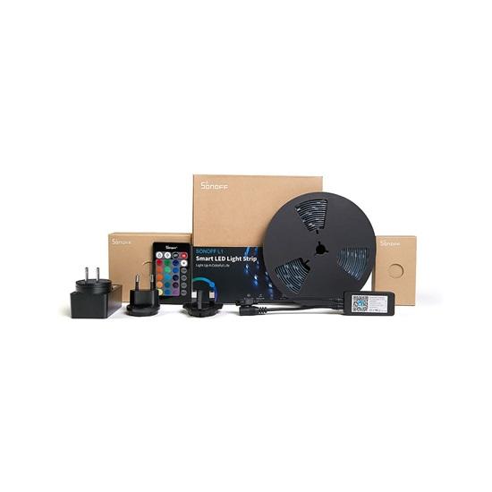 Sonoff Αδιάβροχη Ταινία LED Σετ με Τηλεχειριστήριο SMD5050 12V RGB 2m (SNF-L1-2M) (SONSNF-L1-2M)