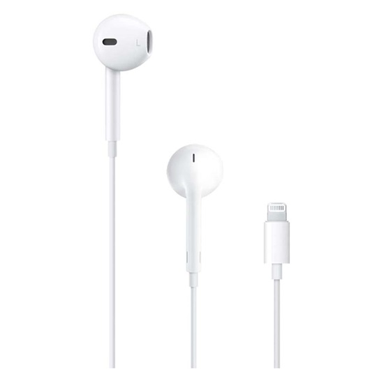 Apple EarPods with Lightning Connector White (ΜΜΤΝ2ΖΜ/Α) (APPMMTN2ZM/A)