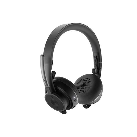 Headset Logitech UC Zone Wireless Teams Graphite 981-000914 (LOG981000914)