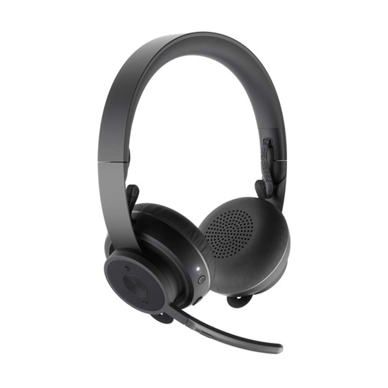 Headset Logitech Zone Wireless Teams Graphite 981-000854 (LOG981000854)