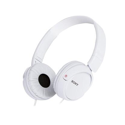 Headphone Sony MDR-ZX110W White (SNYMDRZX110W)