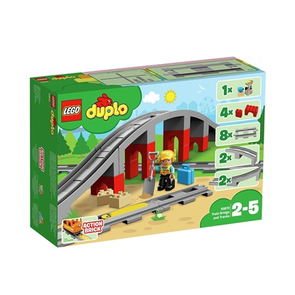 Lego Duplo: Train Bridge and Tracks (10872) (LGO10872)
