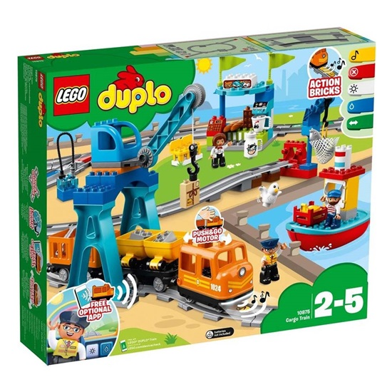 Lego Duplo: Cargo Train (10875) (LGO10875)