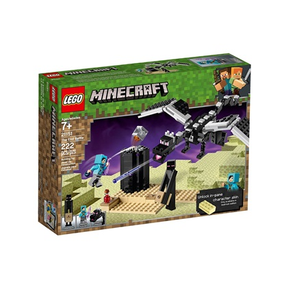 Lego Minecraft: The End Battle (21151) (LGO21151)