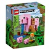 Lego Minecraft: The Pig House Building Set With Alex And Creeper (21170) (LGO21170)