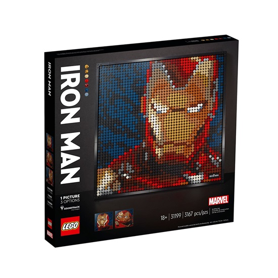 Lego Art Iron Man (31199) (LGO31199)