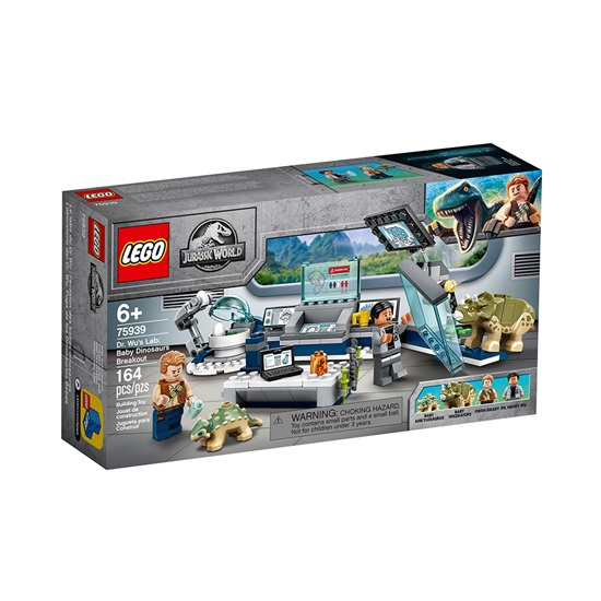 Lego Jurassic World: Dr Wu's Laboratory Baby Dinosaurs Breakout (75939) (LGO75939)