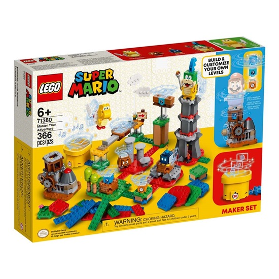 Lego Super Mario: Master Your Adventure Maker Set (71380) (LGO71380)