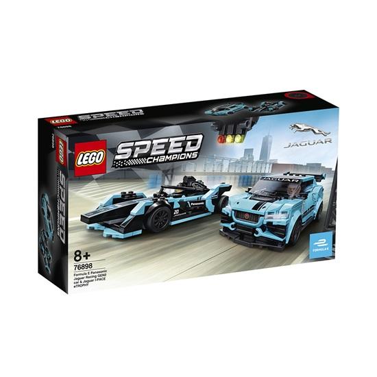 Lego Speed Champions: Formula E Panasonic Jaguar Racing GEN2 car & Jaguar I-PACE eTROPHY (76898)