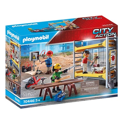 Playmobil City Action: Scaffolding with Workers (70446) (PLY70446)