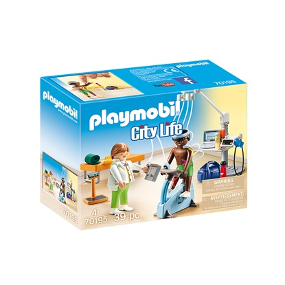 Playmobil City Life: Physical Therapist (70195) (PLY70195)