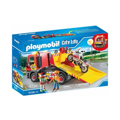 Playmobil City Life: Φορτηγό Οδικής Βοήθειας (70199) (PLY70199)