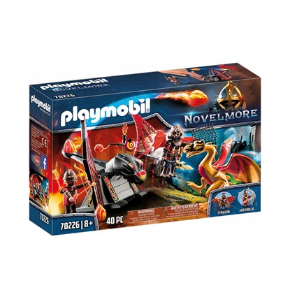 Playmobil Novel More: Combat Training of the Dragon (70226) (PLY70226)