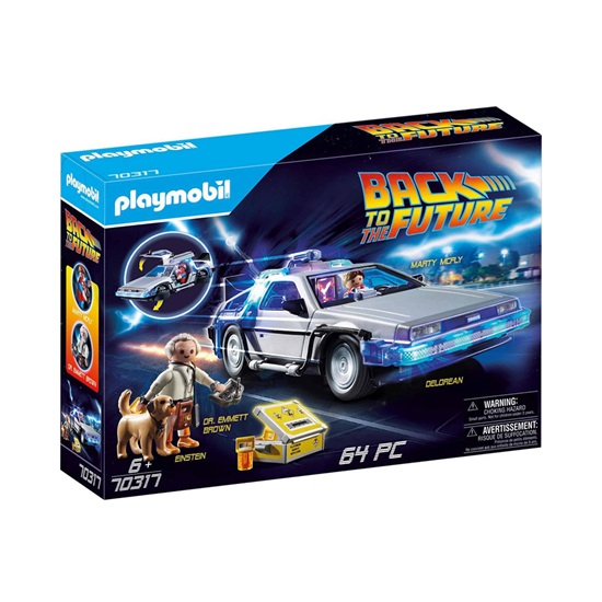 Playmobil Other: Back to the Future - Συλλεκτικό Όχημα Ντελόριαν (70317) (PLY70317)