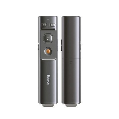 Baseus Orange Dot Multifunctionale Remote Control For Presentation, With a Laser Pointer (ACFYB-B0G)