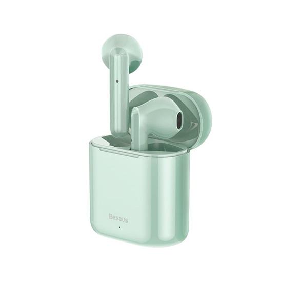 Baseus Encok W09 In-ear Bluetooth Handsfree Πράσινο (NGW09-06) (BASNGW0906)