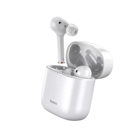 Baseus W06 In-ear Bluetooth Handsfree Λευκό (NGW06-02) (BASNGW0602)
