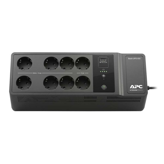 APC UPS Back-UPS 650VA (BE650G2-GR) (APCBE650G2-GR)