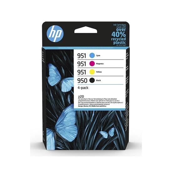 HP Μελάνι Inkjet 950/951 4-Pack Black/CMY (6ZC65AE) (HP6ZC65AE)