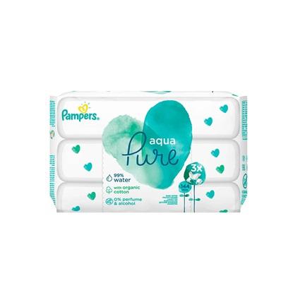 Pampers Pure Aqua 3x48τμχ (3PACKS144) (PAM3PACKS144)