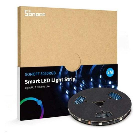 Sonoff Αδιάβροχη Ταινία LED SMD5050 12V RGB 2m (5050RGB-2M) (SON5050RGB-2M)