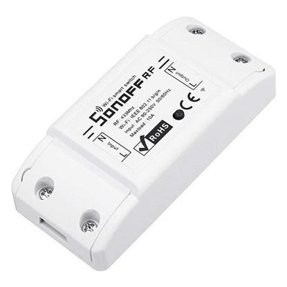 Sonoff Ασύρματος Διακόπτης RFR2 10A Smart WiFi RF 433 Switch - Άσπρο (M0802010002) (SONM0802010002)