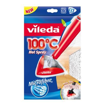 Vileda Πανί Καθαρισμού Ανταλλακτικό Steam Cleaner 2τμχ (146576) (VIL146576)