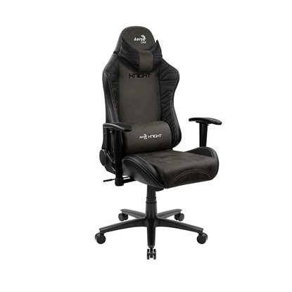 Aerocool KNIGHT AeroSuede Universal gaming chair Black (AEROFD-KNIGHT-BK)