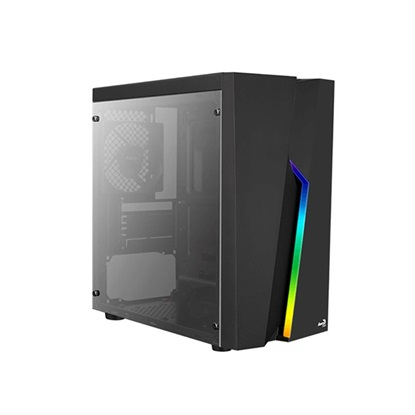 Aerocool Bolt Mini Mini-Tower Black (AEROPGSBOLTMINI-BK-R)