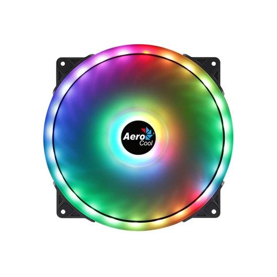 Aerocool Fan PGS Duo 20 ARGB 6Pin 200mm (AEROPGSDUO20ARGB-6P)