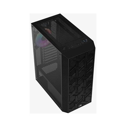 Aerocool PGS HIVE-G-BK-V3 FRGB Black case  (AEROPGS-HIVE-G-BK-V3)