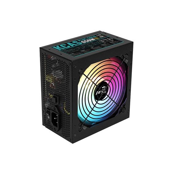 Aerocool KCAS 650W 80Plus Gold ARGB power supply unit (AEROPGSKCAS+RGB650-G)