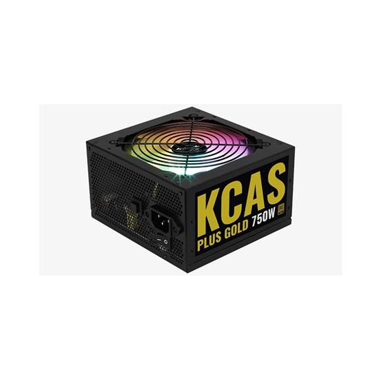 Aerocool KCAS 750W 80Plus Gold ARGB power supply unit (AEROPGSKCAS+RGB750-G)