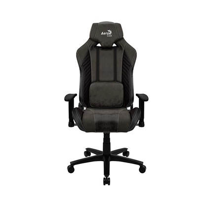 Aerocool BARON AeroSuede Universal gaming chair Black (AEROAC-250BARON-BK)