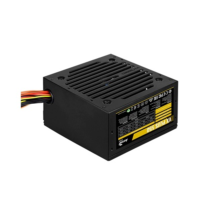 Aerocool VX PLUS 550 power supply unit 550 W ATX Black (AEROVX-550PLUS)