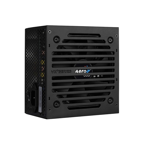 Aerocool VX PLUS 650 power supply unit 650 W ATX Black (AEROVX-650PLUS)