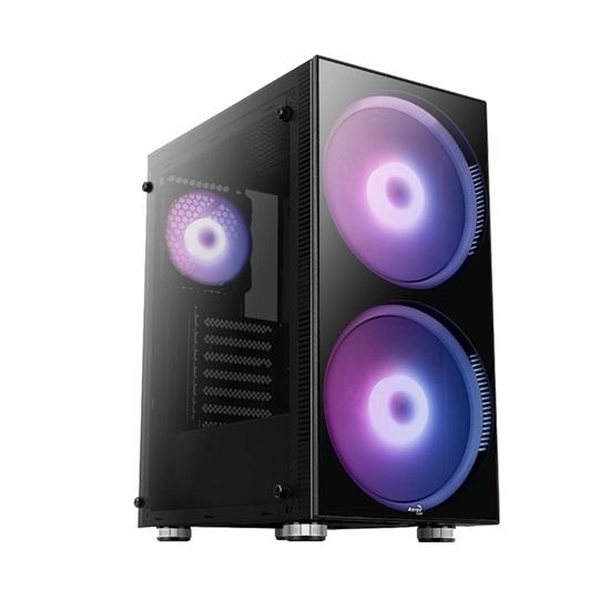 Aerocool Python Midi-Tower Black  (AEROPGSPYTHON-G-BKRG)