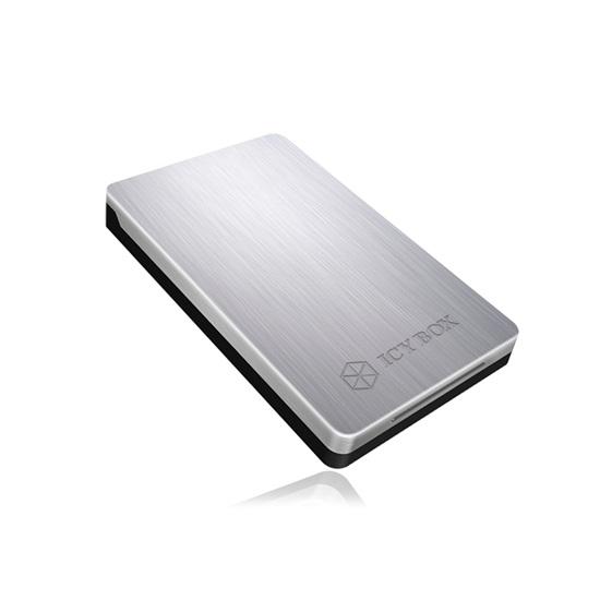 """RaidSonic ICY BOX Elegant and very stable USB 3.0 enclosure for 2.5"""" SATA HDD and SSD (IB-234U3A) (RSCIB-234U3A)"""