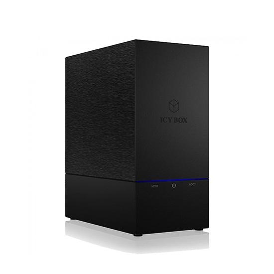 """RaidSonic ICY BOX 2 bay RAID enclosure for 3.5"""" HDD (IB-RD3621U3) (RSCIB-RD3621U3)"""